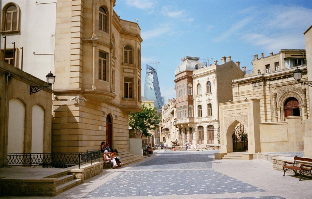 Old City of Baku Azerbaijan