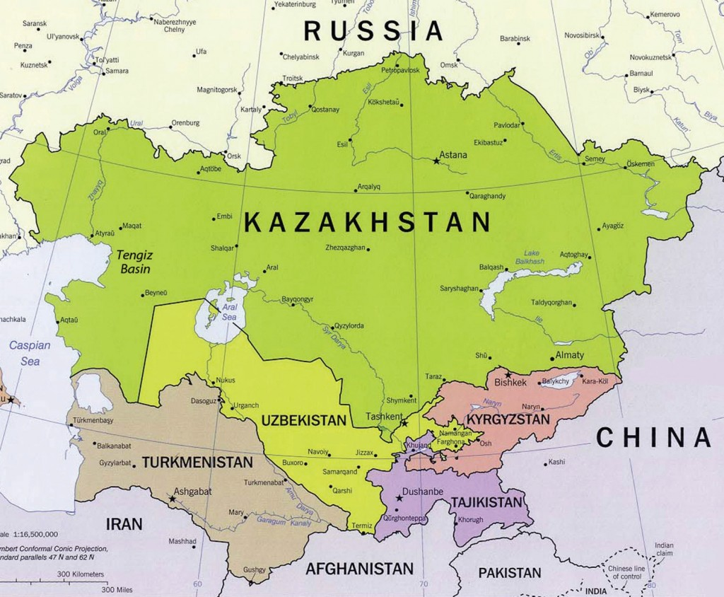 Central Asia Facts