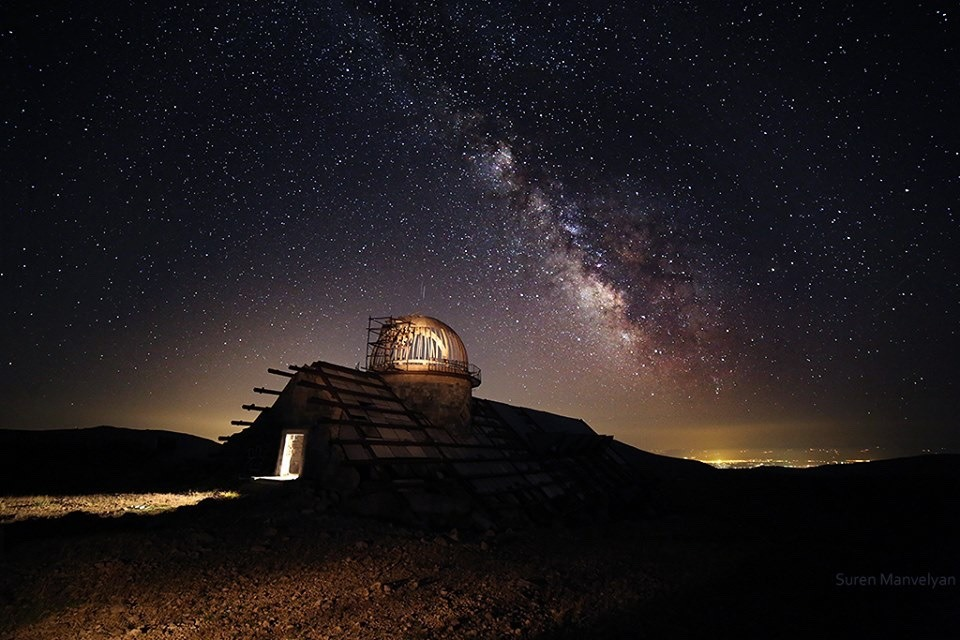 Astronomy in Armenia