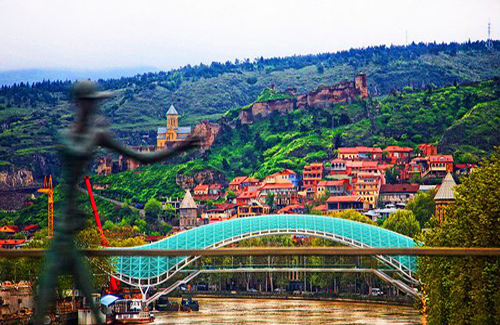 Tbilisi - A beautiful Eurasian City
