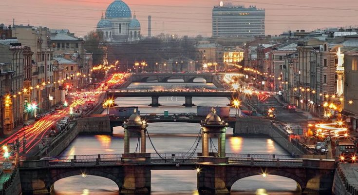 St. Petersburg - City of Bridges