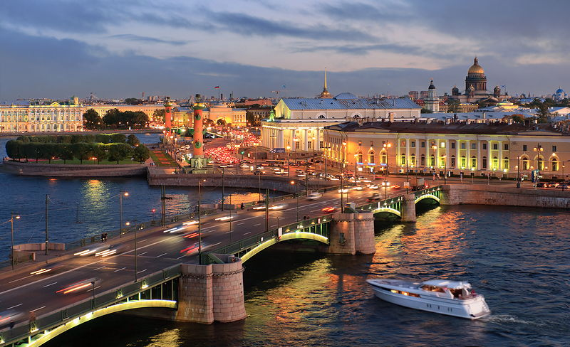 St. Petersburg - A City of Bridges