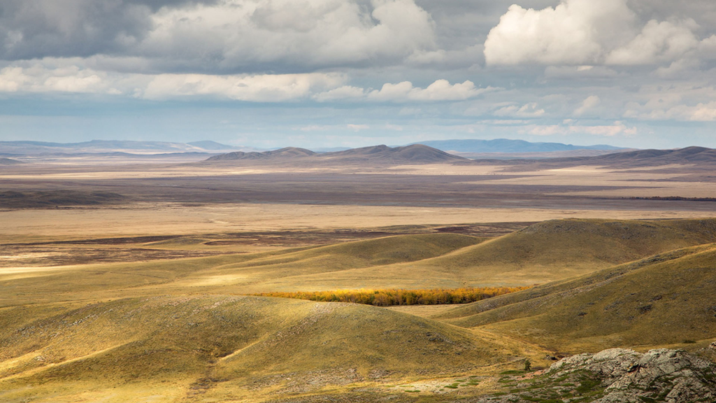 About Kazakh Steppe