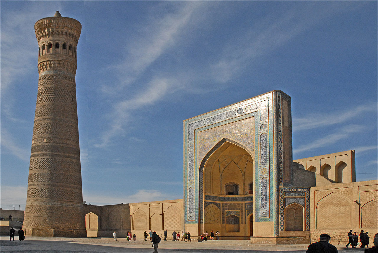 The Great Minaret of Kalon Bukhara