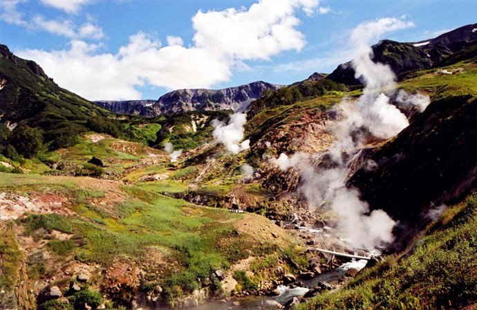 Valley of Geysers - Russia