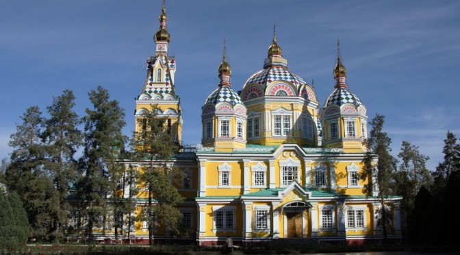 Zenkov Cathedral of Holy Ascension in Almaty