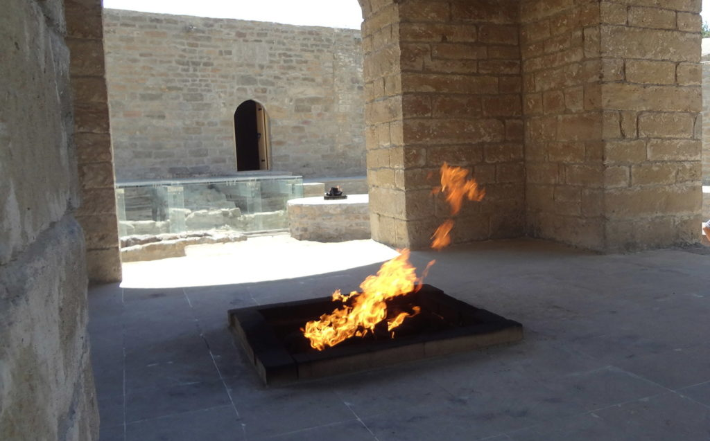 The Fire Temple of Baku Azerbaijan