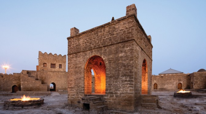 Ateshgah, the temple of fire