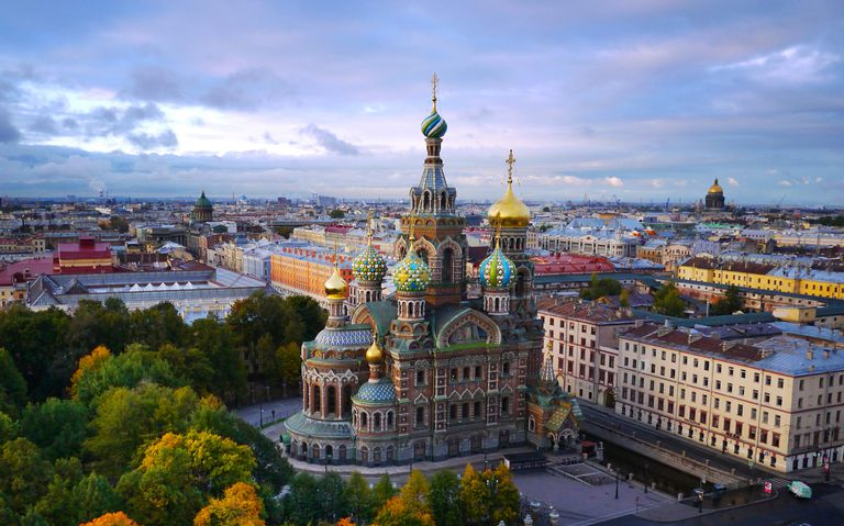 St. Petersburg Tour