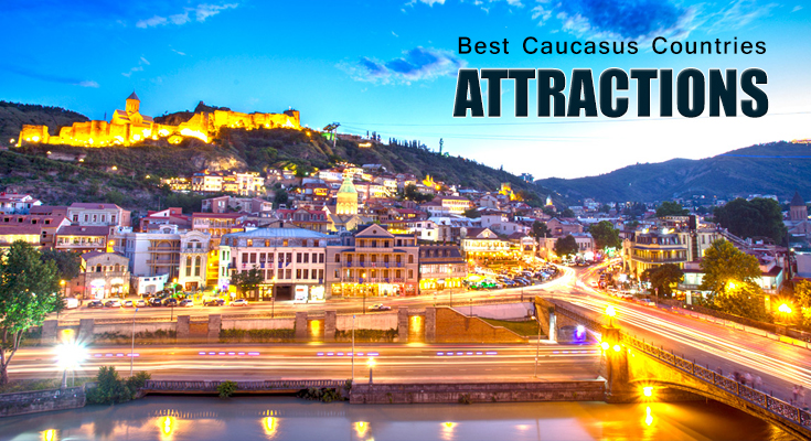 Caucasus Countries Attractions