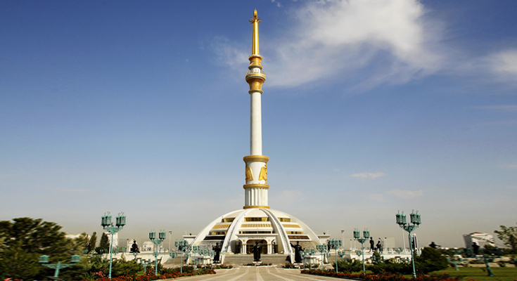 Independence Monument of Turkmenistan
