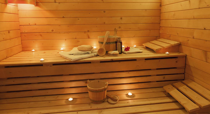 Relax In One Of The Saunas In The City