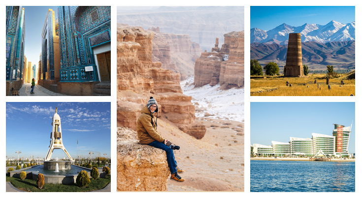Central Asia Attractions