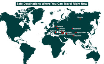 Coronavirus Safest Holiday Destinations