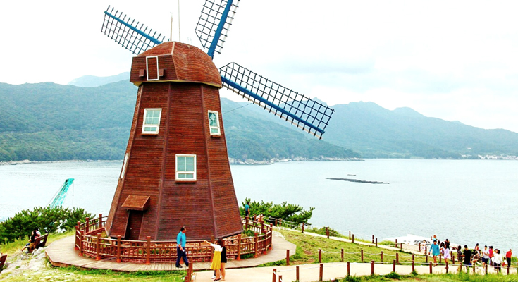 Windy Hill in Geoje Island